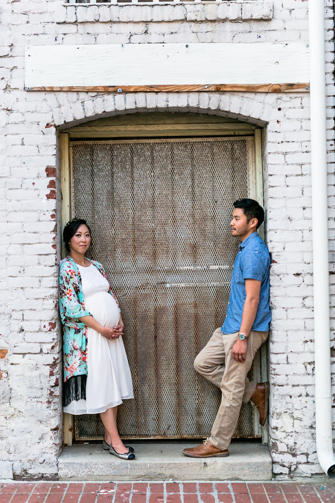 Pasadena - Old Town - Maternity Session - Yeum Family