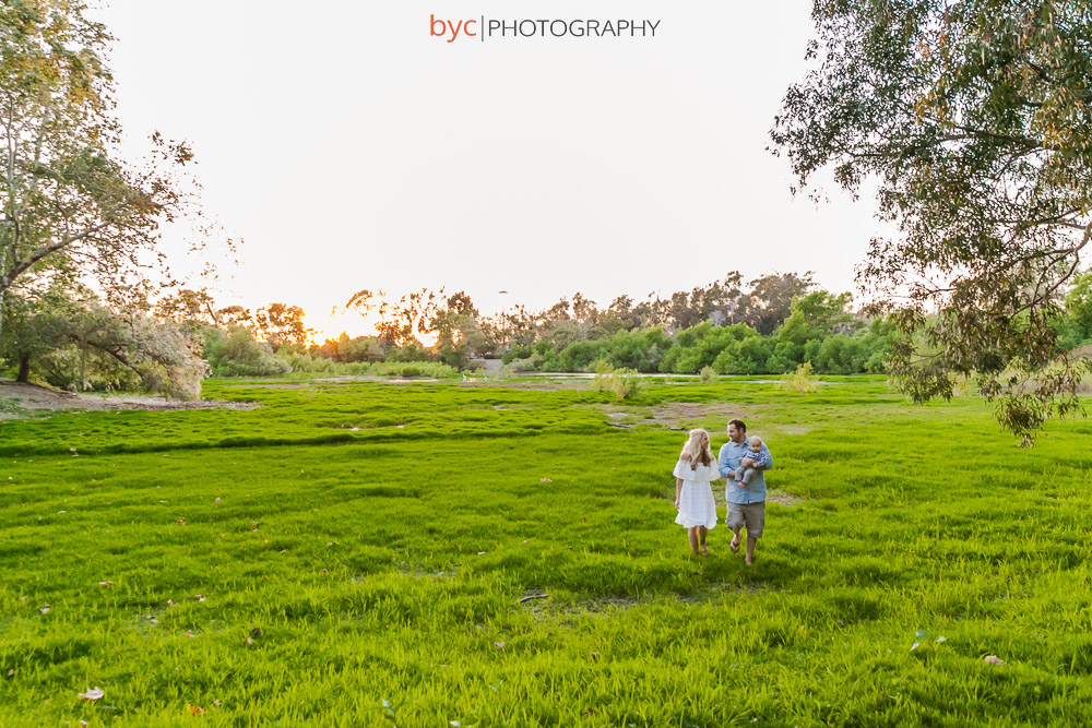 Huntington Beach Central Park Family Session