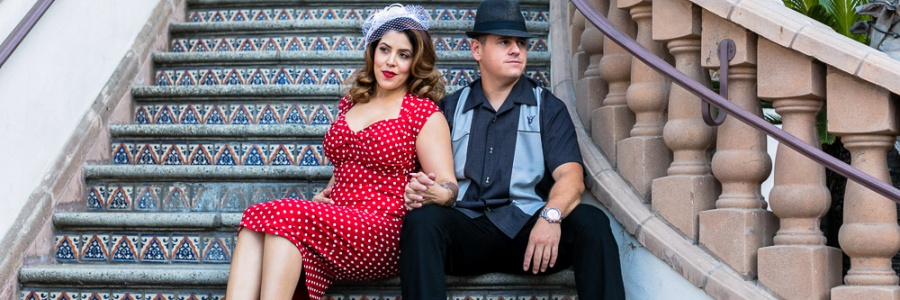 Santa Ana – Metrolink Station – Engagement Session –  Marcie & Anthony