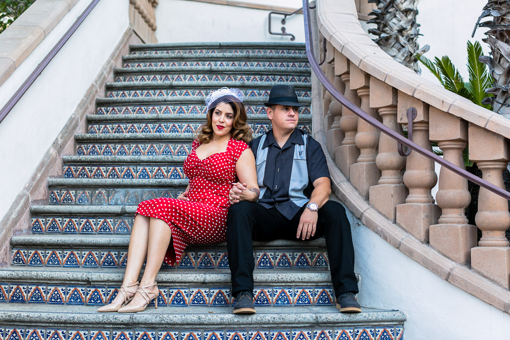 Santa Ana - Metrolink Station - Engagement Session -  Marcie & Anthony