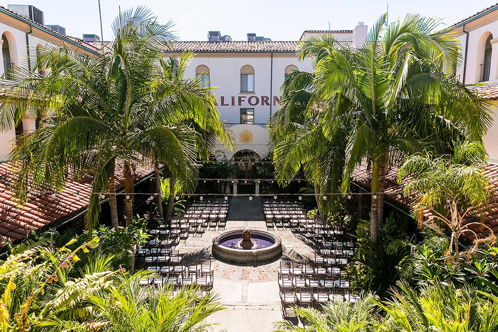 Villa Del Sol Fullerton Wedding