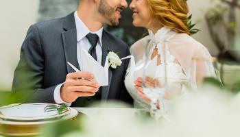 [seven-degrees] Modern Inspirational Wedding Shoot
