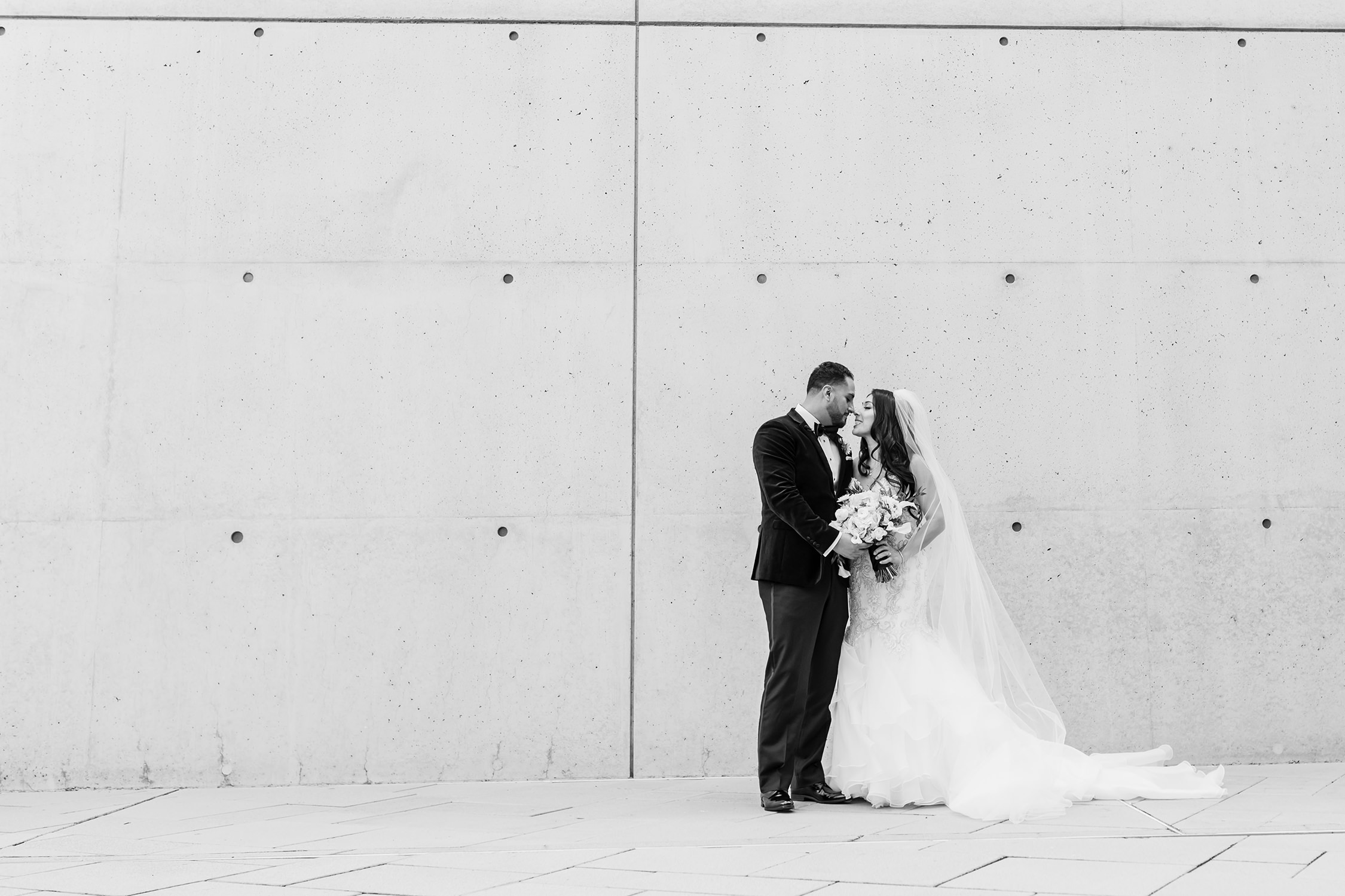 bycphotography cathedral of our lady of the angels downtown los angeles wedding