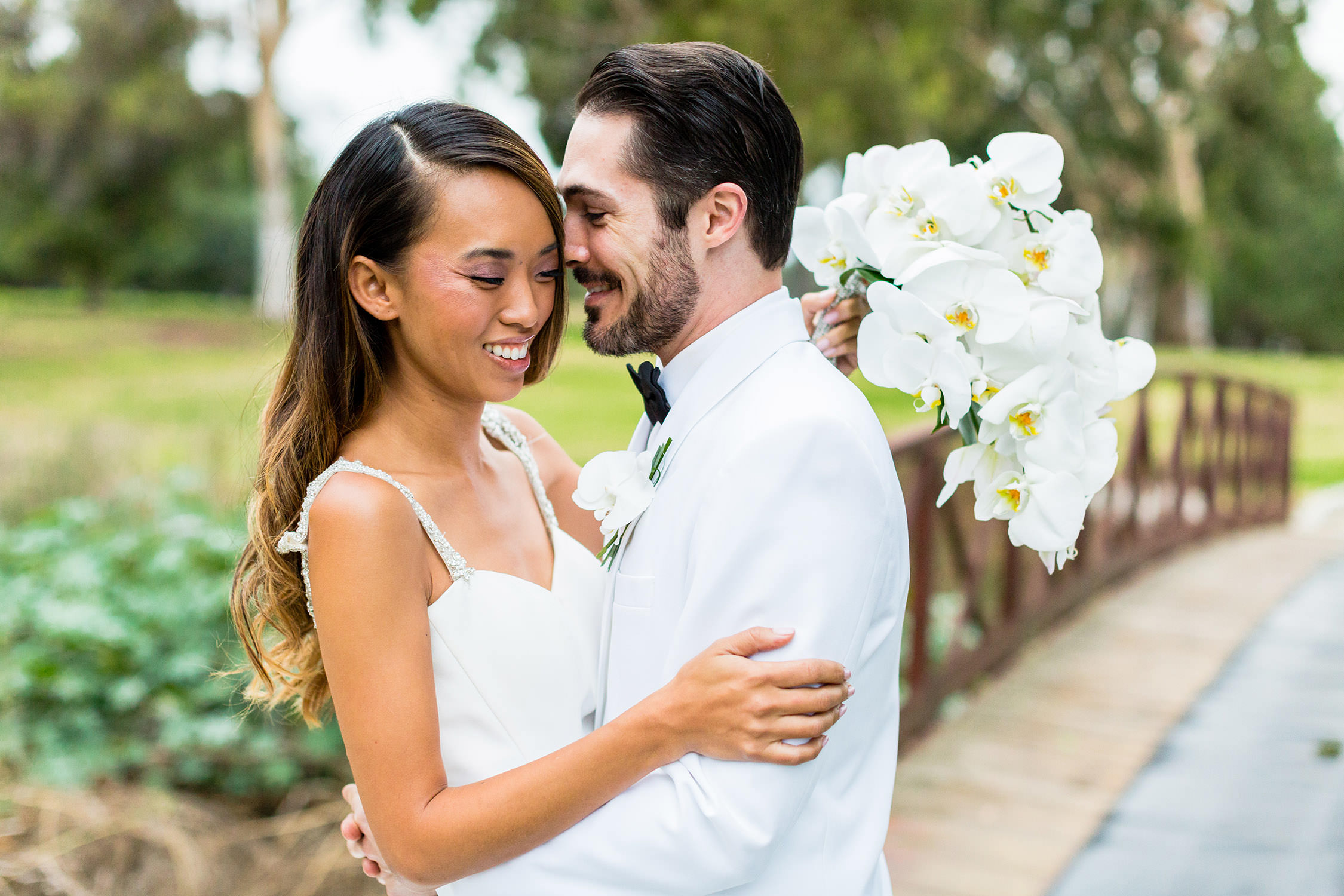 Diamond Bar Golf Course Southern California Wedding