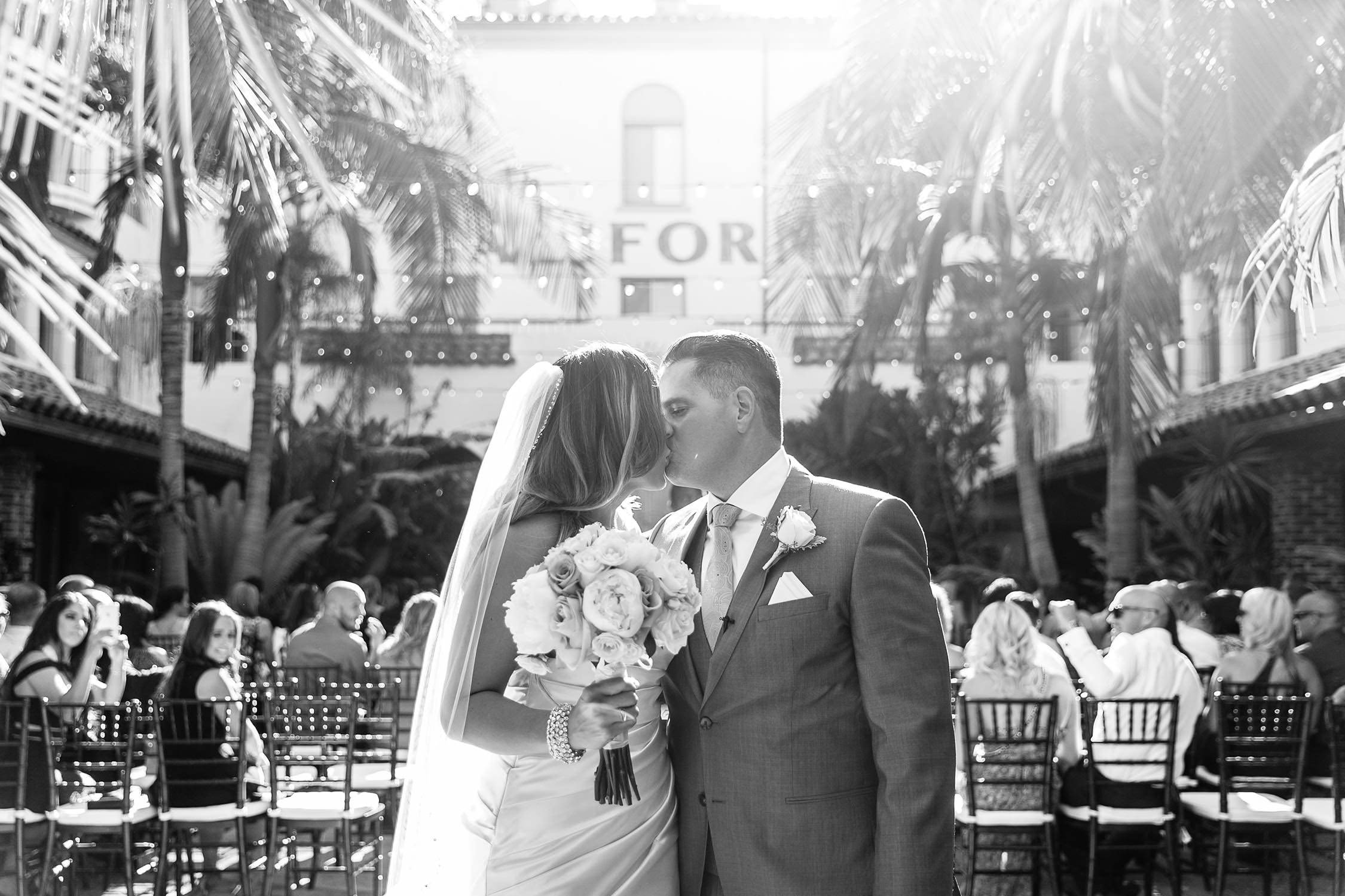 Ceremony at Villa Del Sol Southern California Wedding in Fullerton