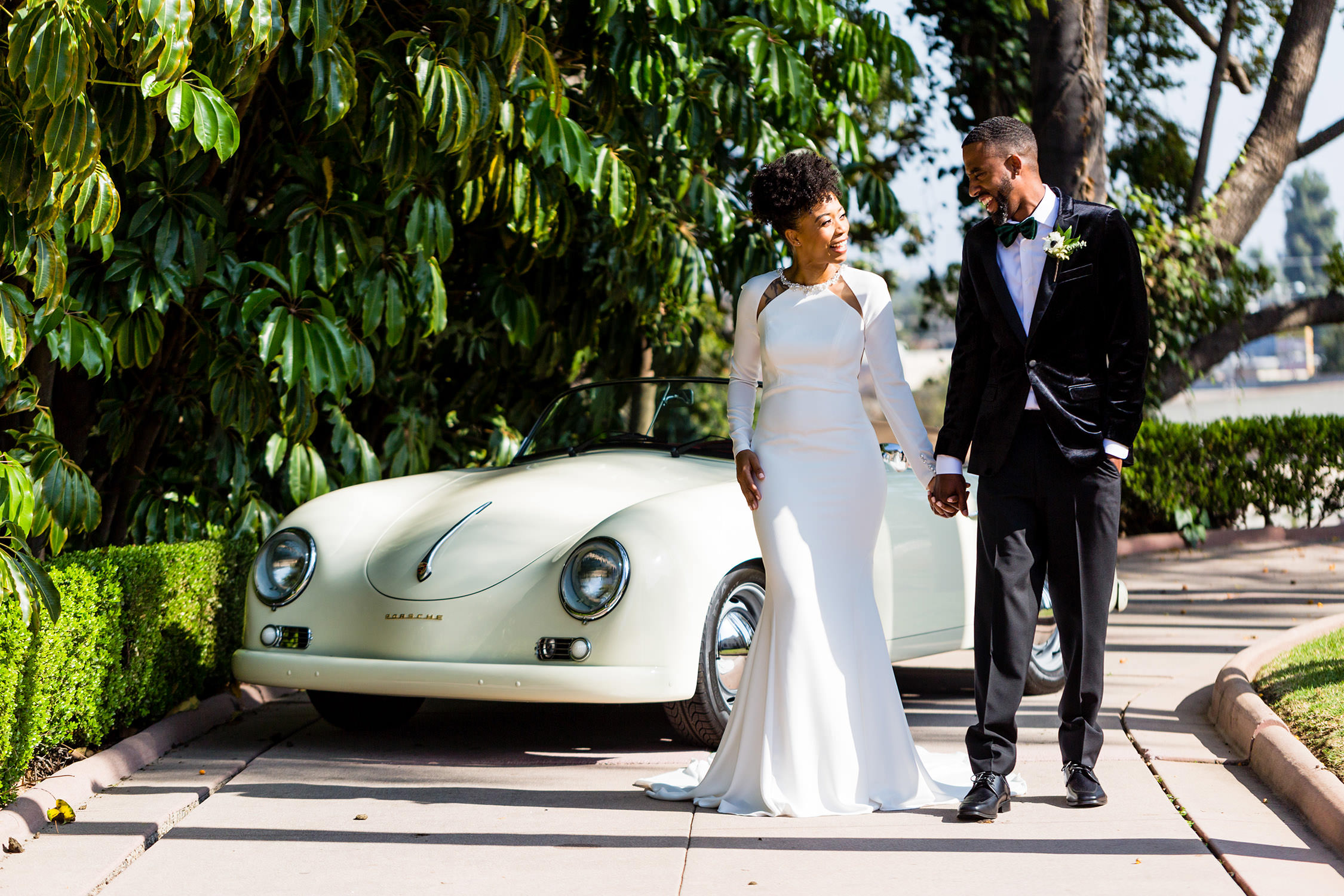 Muckenthaler Mansion in Fullerton California Wedding