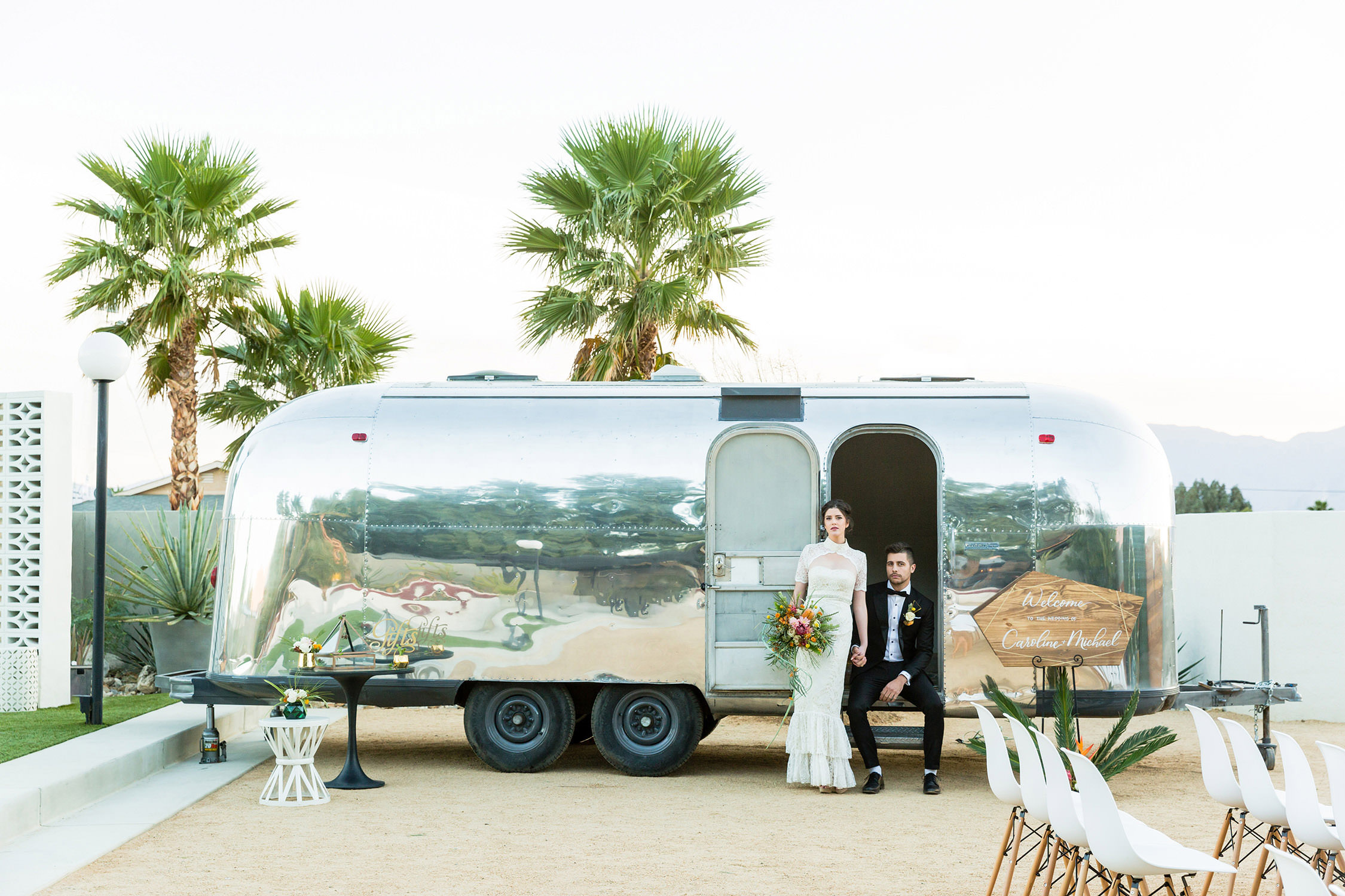The Lautner Compound, Hotel Lautner Palm Springs Wedding