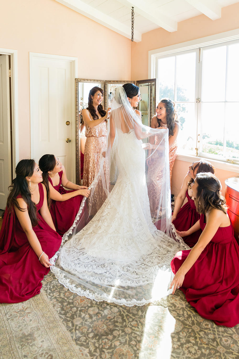 La Venta Inn southern california wedding in Palos Verdes Estates