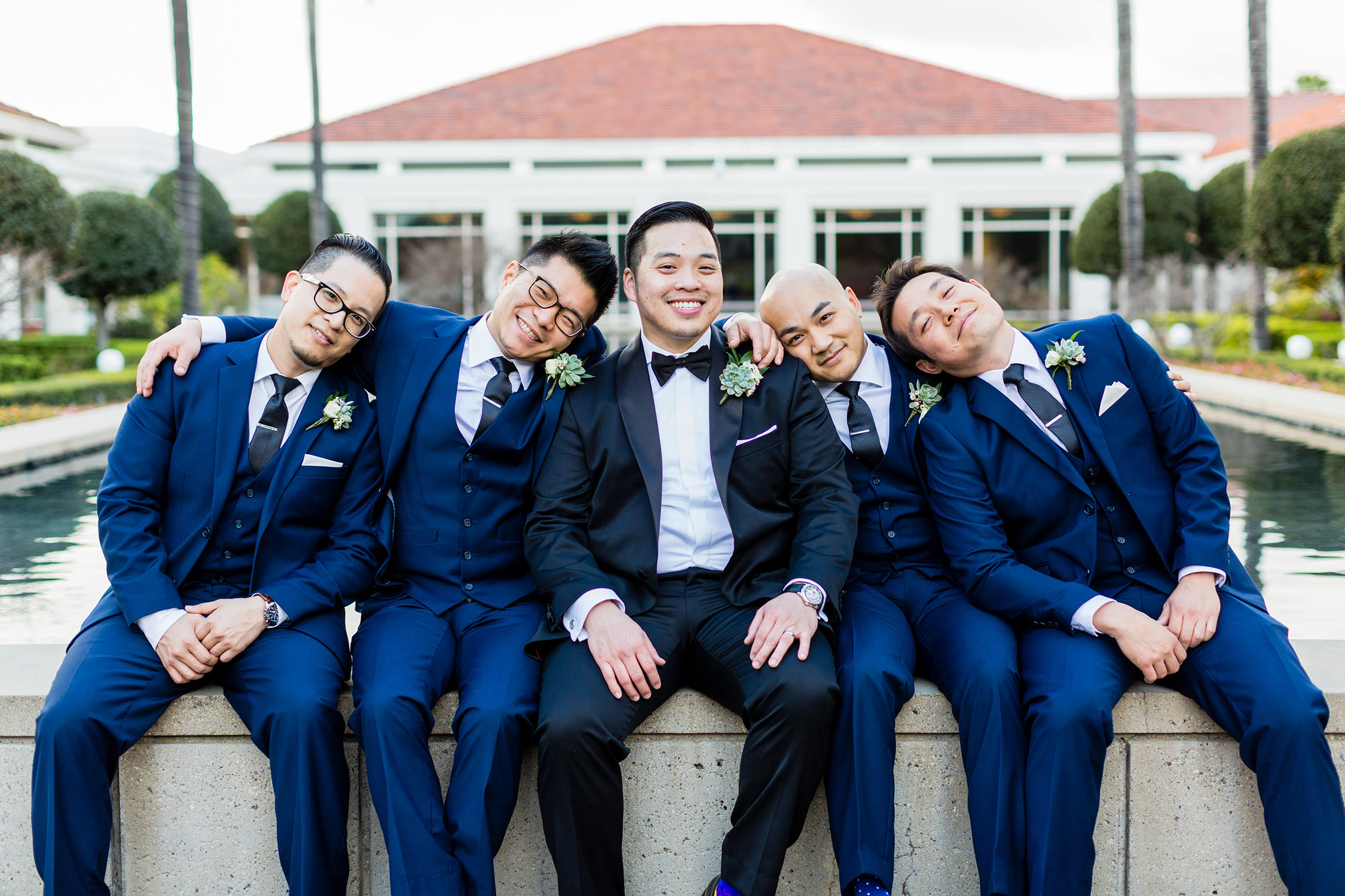 Richard Nixon Presidential Library Southern California Wedding in Yorba Linda