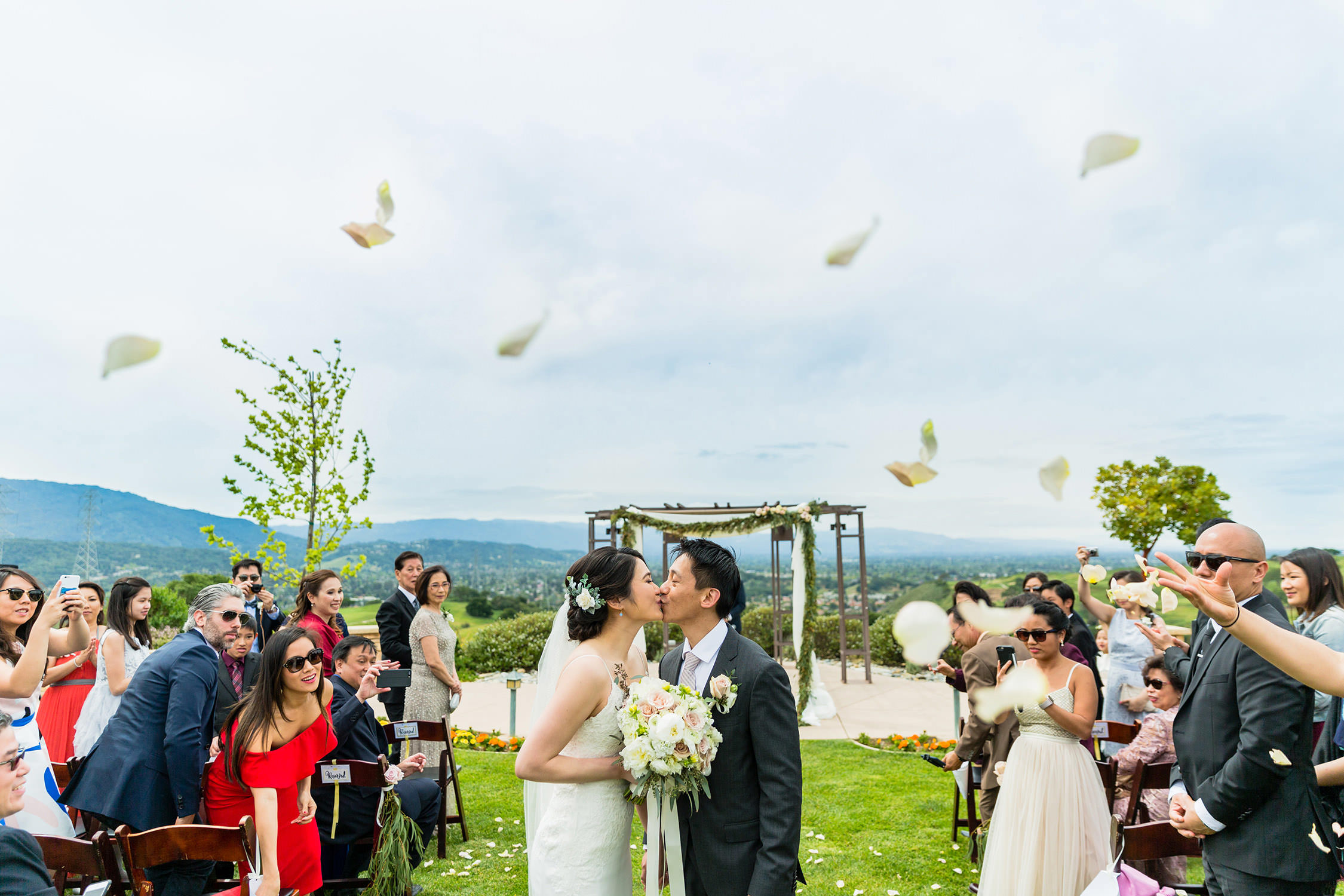 Boulder Ridge Golf Course wedding in Bay Area