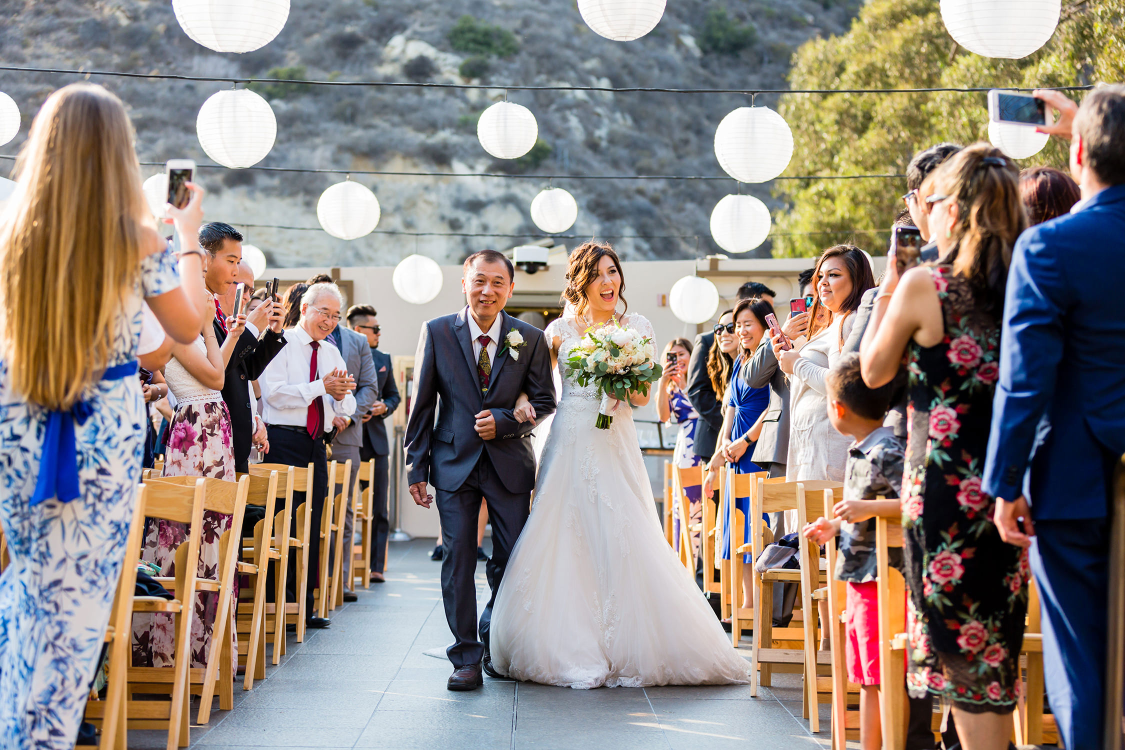 bycphotography seven degrees laguna beach wedding ceremony