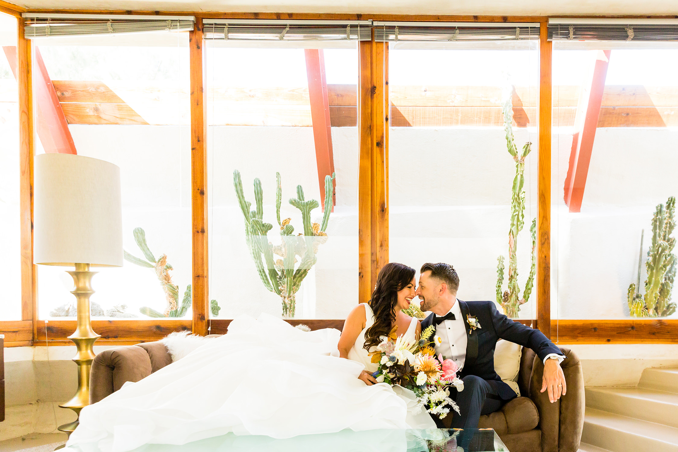 bycphotography the lautner compound palm springs wedding portrait