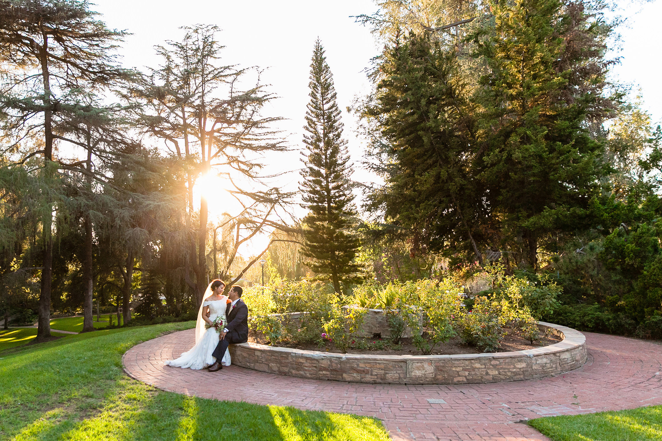 Penn Park Southern California in Whitteir Wedding