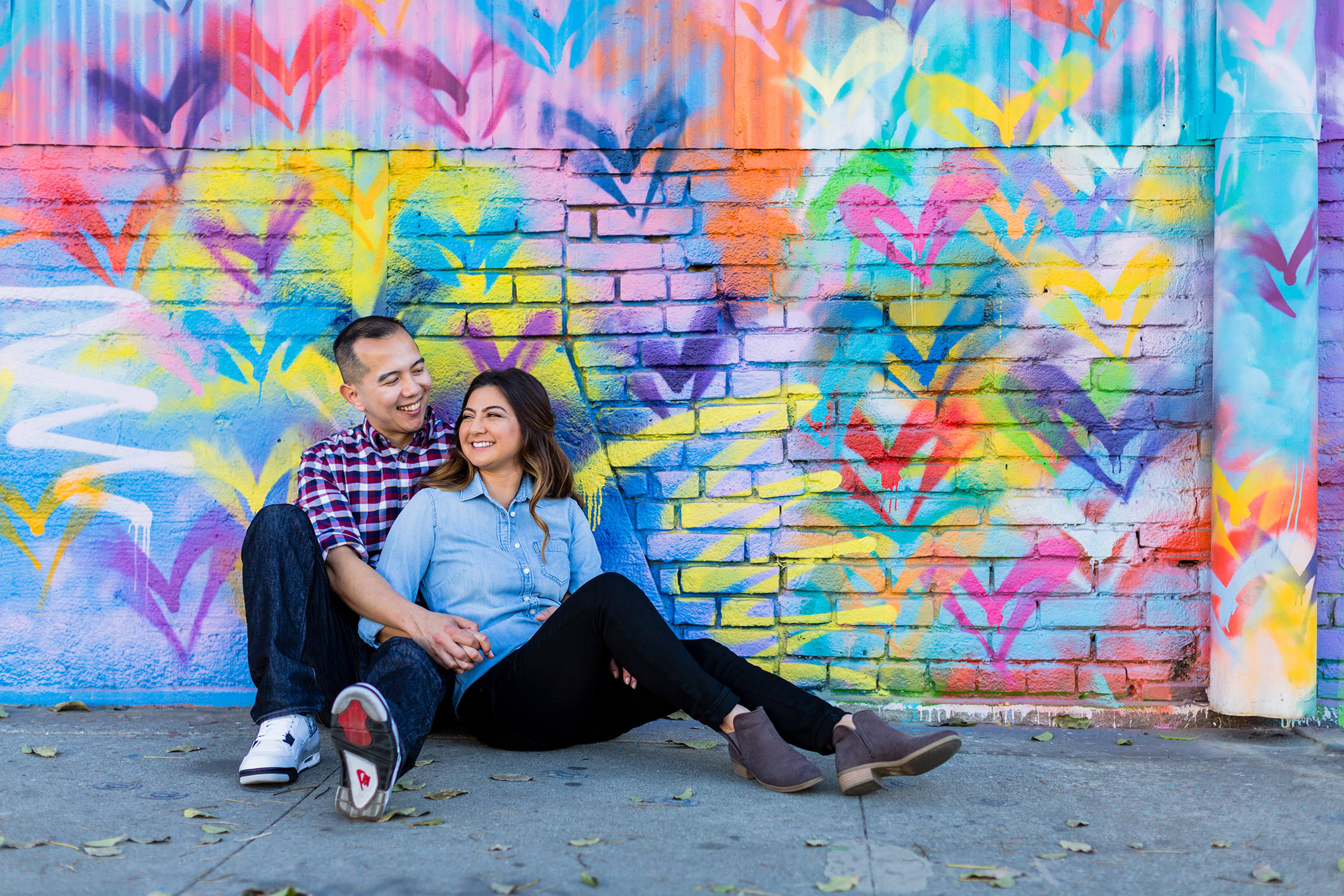 Engagement Session at Arts District Downtown Los Angeles, CA