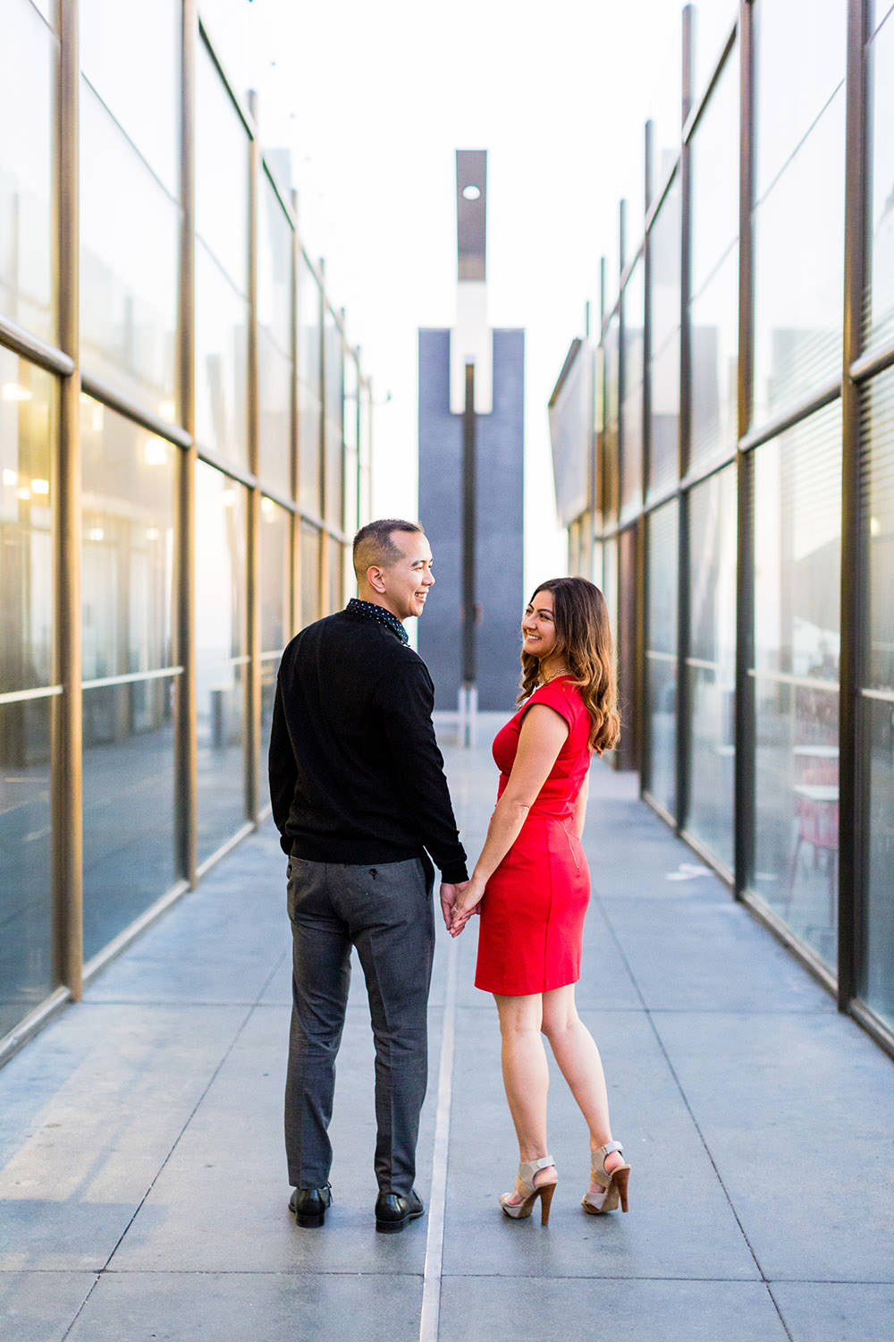 Engagement Session at Griffith Observatory in Los Angeles, CA