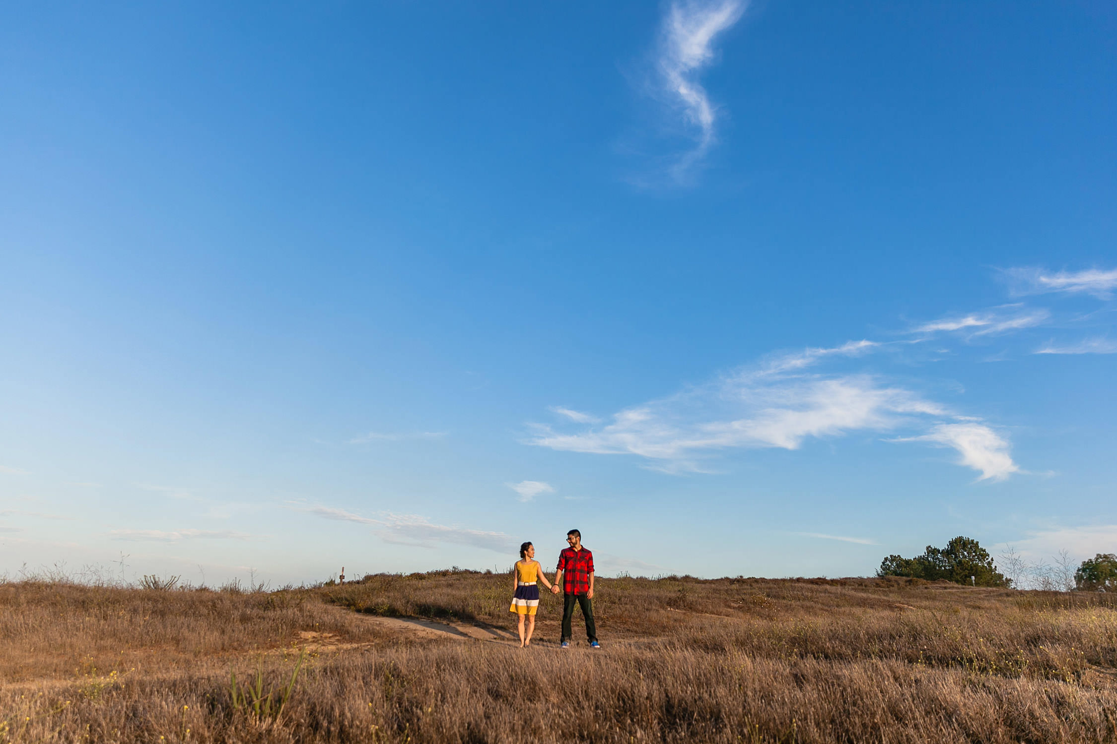 Engagement Session at Moulton Meadows Park in Laguna Beach