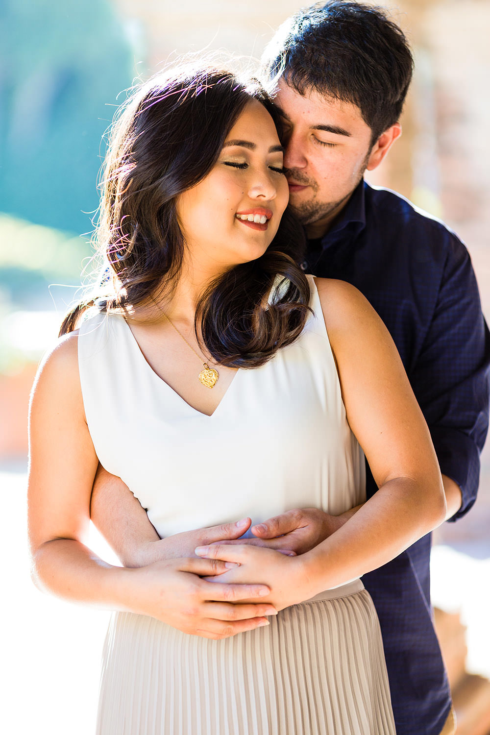 Engagement Session at the Mission in San Juan Capistrano Southern California