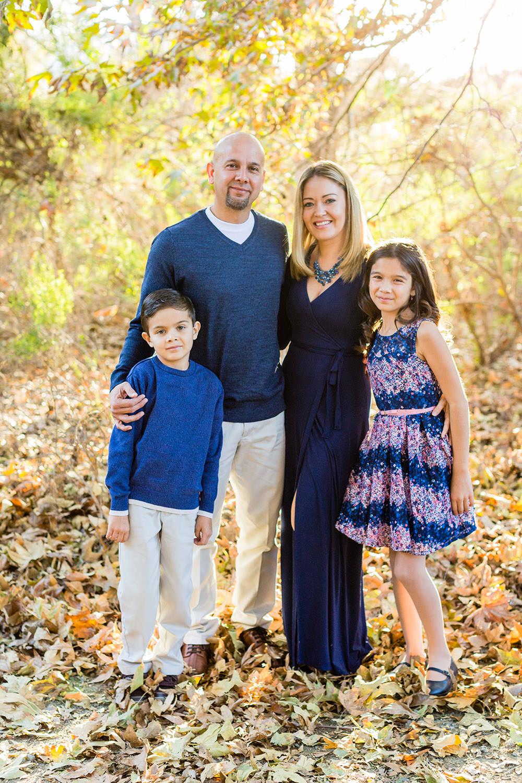 Family portrait session in Chino Hills, California