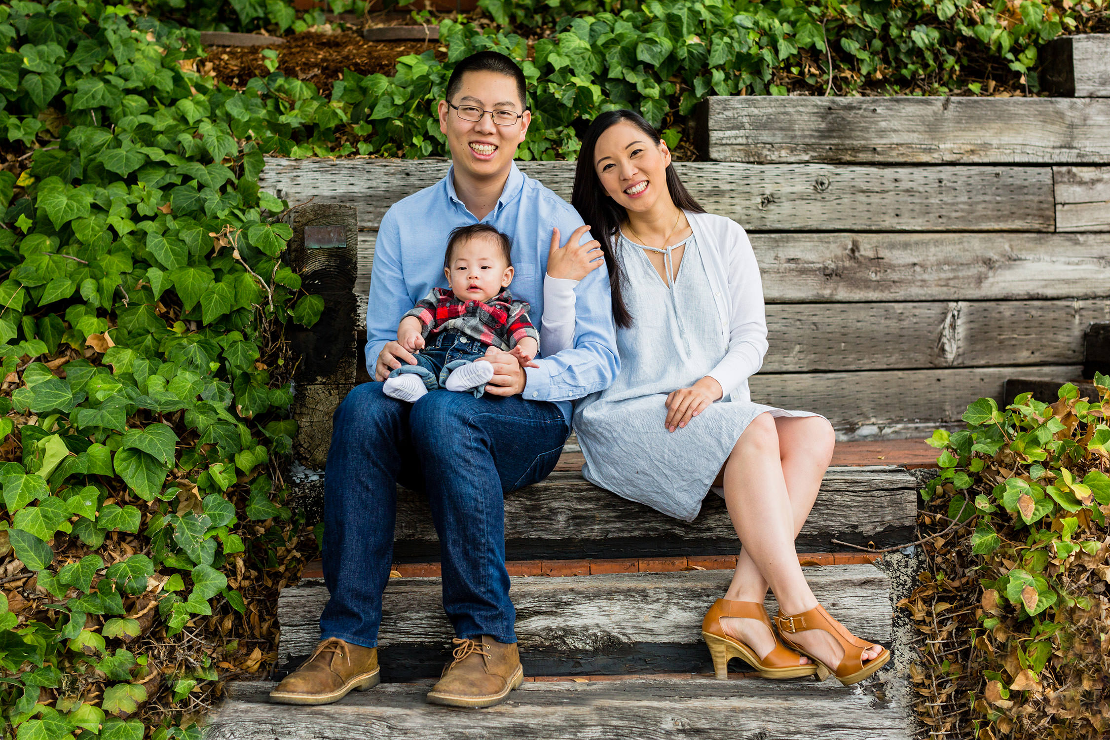 Family portraits session in Glendora, California