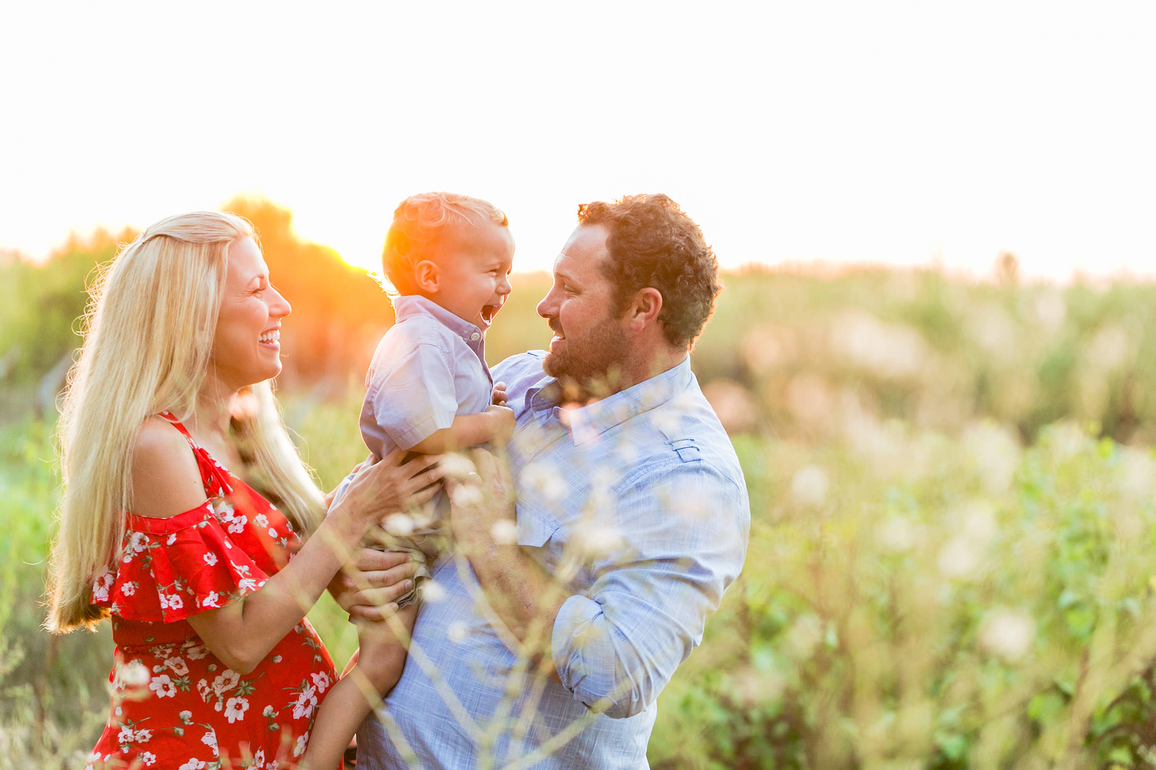 Family Portraits session at Gum Grove Park, California