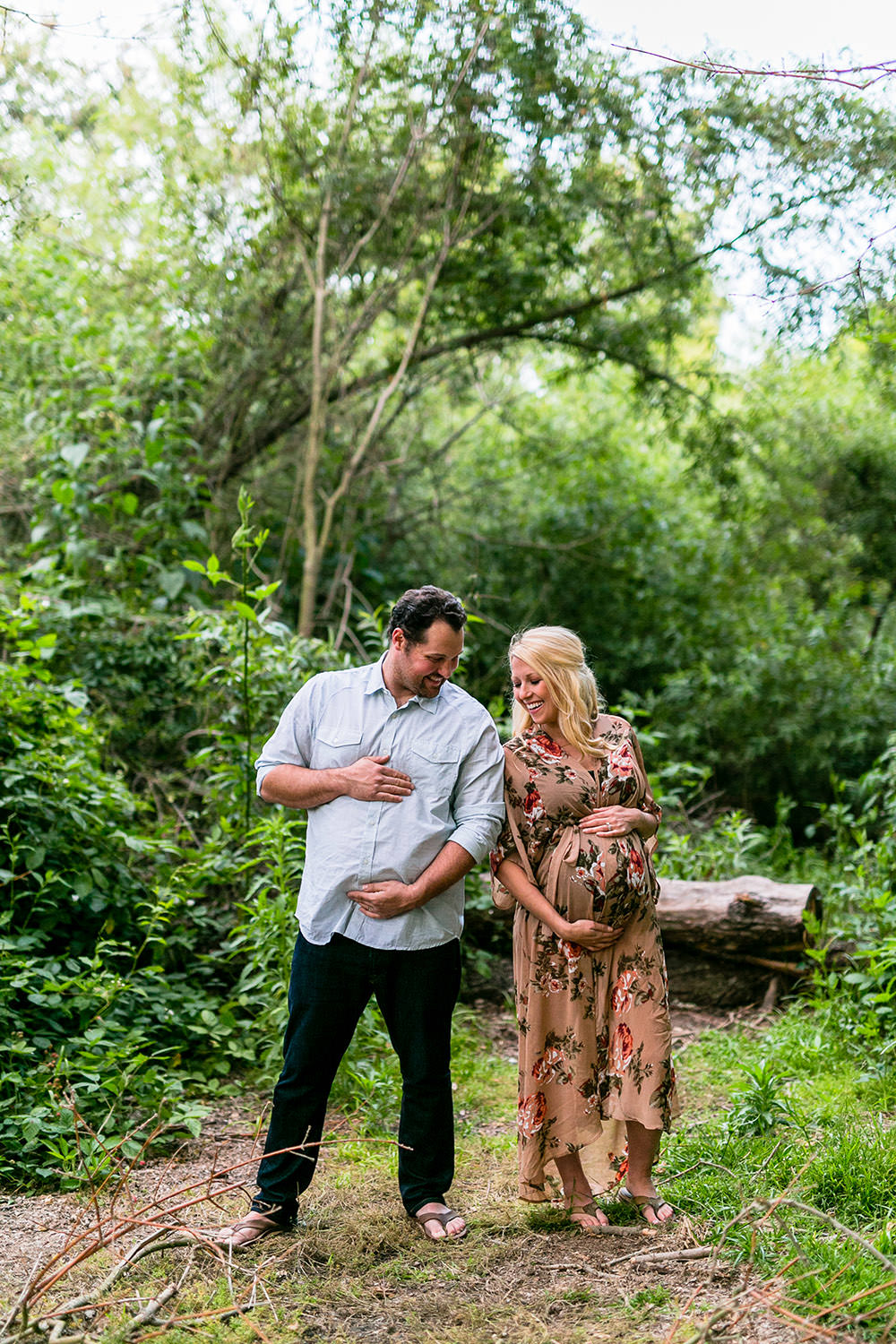 Maternity Session at Central Park in Huntington Beach, CA